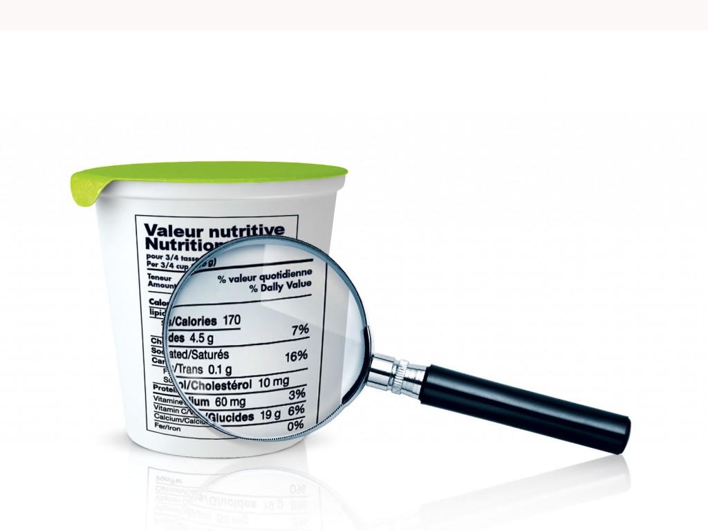Analyses de composition nutritionnelle
